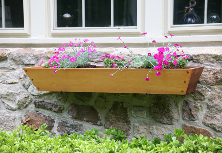 Wooden Window Planters