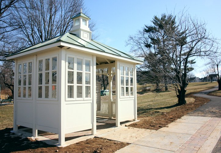 Prefabricated Glass Cabana