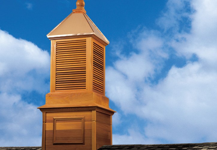 Copper Roofed Cupolas