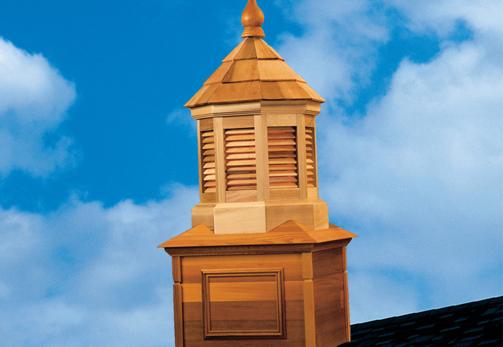 Shingled Cupolas