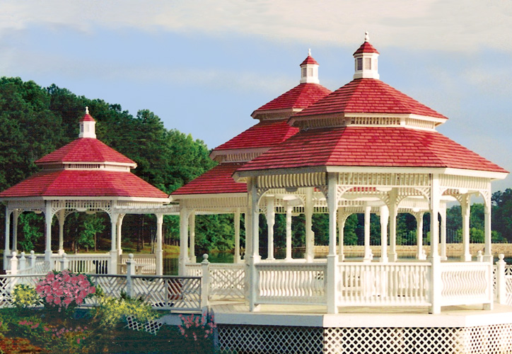 Large Wooden Gazebos