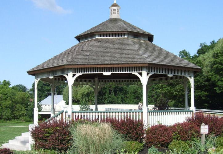 Wood Bandstand