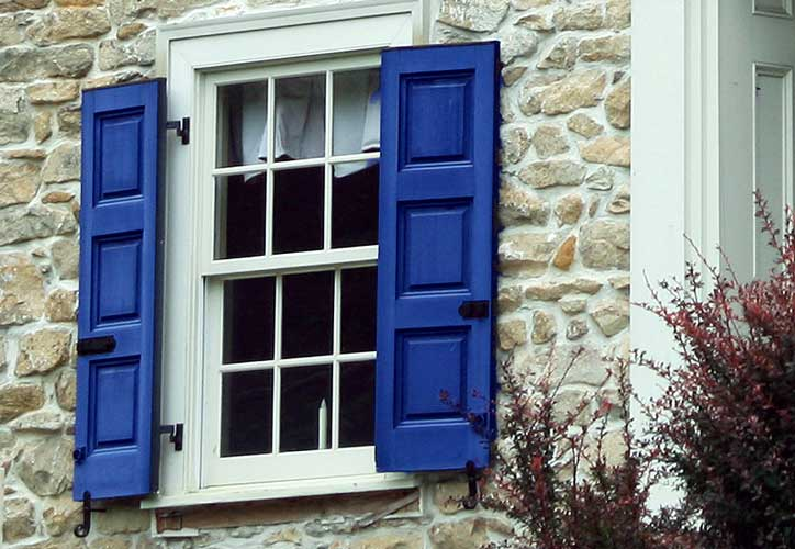 Real Wooden Shutters