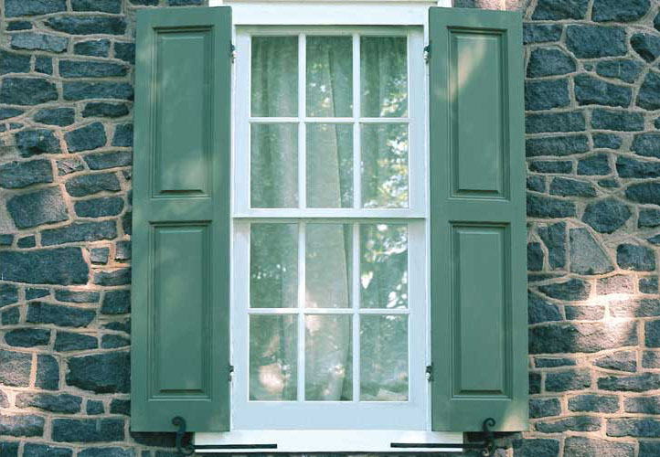 Custom Wooden Exterior Window Shutters For Sale Real Wood