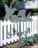 Hummingbird Weathervane