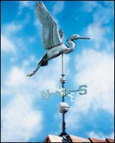 Heron Weathervane